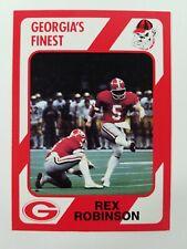 Rex Robinson Georgia Bulldogs UGA Dawgs 89 Collegiate Collection Marietta High K