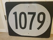 Kentucky state highway 1079 road street route sign. Aluminum. 24 x 30