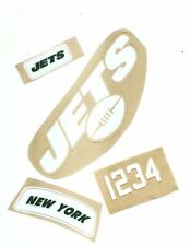 Jets Football Helmet Decals Free Shipping