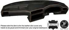 BEIGE STITCH DASHBOARD LEATHER SKIN COVER FOR BMW 3 SERIES E30 81-92 STYLE 2
