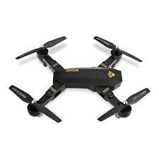 Visuo XS809W Foldable Drone 2MP Camera WiFi Headless Mode 3D Stunts 100m Range