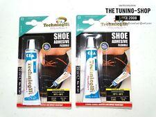 2x Fuerte Pegamento Adhesivo Para Zapatos Cuero Cuero Telas De Nylon Fieltro De Goma