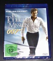 JAMES BOND 007 IN TÖDLICHER MISSION MIT ROGER MOORE BLU RAY NEU & OVP