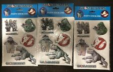 Vintage 1984 Ghostbusters Puffy Decals Sticker Stay Puft Marshmallow Slimer