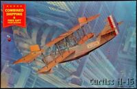 Roden 049 - 1/72 - Curtiss H-16, fighter-biplane, USA and Britis air force