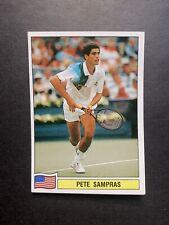 PETE SAMPRAS - Rookie, Panini Tennis 1994, ATP Tour, #135, RARE Sticker, INVEST