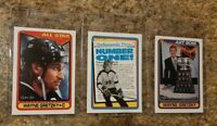 (3) Wayne Gretzky 1990-91 O-pee-chee All Star Art Ross card lot Kings Oilers
