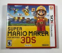 Super Mario Maker Nintendo 3DS BRAND NEW, AUTHENTIC US FIRST PRINT - FAST SHIP