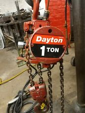 New Listingdayton 1 Ton Chain Hoist Pneumatic
