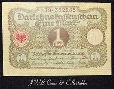 1920 Germany 1 One Mark Banknote