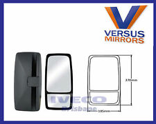 2 Piece RH Mirror Head Suits Hino Dutro Mitsubishi Canter Fuso 370mm x 185mm