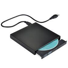 New listing Usb External Cd Burner Dvd/Cd Reader Player for Windows, Mac Os Laptop Computer