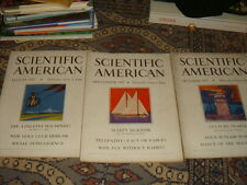 3 Back Issues of SCIENTIFIC AMERICAN - 1927 -  FREE SHIP