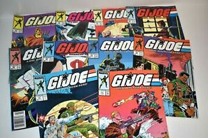 GI Joe A Real American Hero! #60 - 69 Comic Book Lot