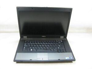 """Dell Latitude E5510 15.6"""" Laptop 2.27 GHz i3-M 350 4GB RAM (Grade B No Webcam)"""
