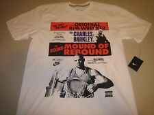Nike Charles Barkley Poster T-Shirt White Men's Large BNWT FAST FREE SHIPPING!