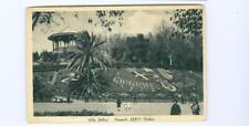 Catania, Italy Villa Bellini  Giardino Bellini WWII passed censor used postcard