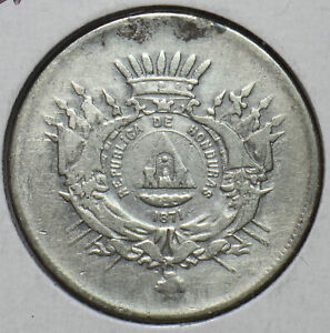Honduras 1871 50 Centavos H0198 combine shipping