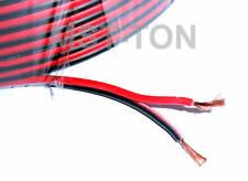 Meterware Lautsprecherkabel rot / schwarz 2 x 1,5 qmm