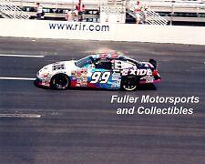 JEFF BURTON 2000 #99 EXIDE FORD TAURUS AT RICHMOND 8X10 PHOTO NASCAR WINSTON CUP