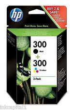 HP No 300 Nero E Colore originale OEM Cartucce Inkjet Per F4224, F4240, F4272