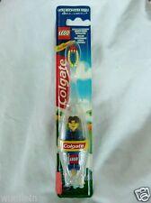 COLGATE & LEGO Zahnputz-Set, Zahnbürste + Lego-Figur Männchen blau NEU