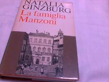 LA FAMIGLIA MANZONI DI NATALIA GINZBURG
