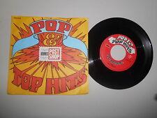 """7"""" Werbe Hermes / Post Shop - Pop Top Hits (2 Song) POST SHOP Van Leeuwen"""