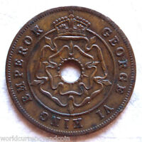 SOUTHERN RHODESIA 1 PENNY 1947 or 1951 or 1952 X 1 KING GEORGE VI ZIMBABWE COIN