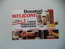 advertising Pubblicità 1984 MELICONI