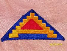 Vintage Seventh Army Military Patch Sew-On World War II 7 Steps Patton