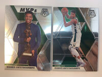 2019-20 Mosaic MVP's Lot (2) GIANNIS ANTETOKOUNMPO - Milwaukee Bucks