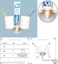 Distributore automatico Auto Dentifricio + Spazzolino da denti titolare Set parete tumbler