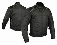 Textil Chaqueta de moto REISSA impermeable y transpirable chaqueta de moto Negro
