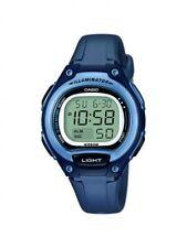 Casio Kinderuhr Damenuhr Uhr Blau Digital Alarm LW-203-2AVEF