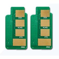 2 x Toner Chips For Samsung ML-1665K 1660K 1865W SCX-3200 3205W 3207 MLT-D104S