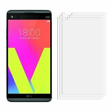 2 x Clear LCD LG V20 Screen Protector Film Foil Saver For Mobile Phone