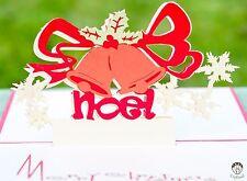 Handmade 3d pop up Christmas cards