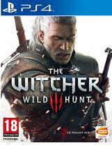Il Witcher 3 WILD HUNT PS4 NUOVISSIMO CONSEGNA VELOCE!