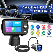 Car DAB+ LCD Radio Receiver DAB FM Transmitter MP3 Player QC3.0 Fast Charger