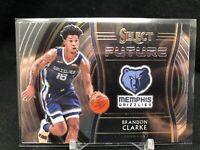 2019-20 Panini Select Brandon Clarke RC Future Silver Grizzlies Rookie #2 B63