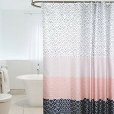 180*180cm Bathroom Modern Polyester Waterproof Shower Curtain with Hook LI