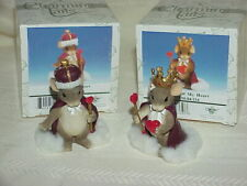 Charming Tails Lot King and Queen of My Heart in Original Boxes