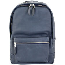 Fossil Estate Blue Leather Men's Backpack MBG9275400