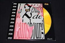 LE ZENITH DE GAINSBOURG   CD VIDEO   1989