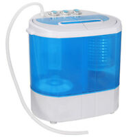 10lbs Mini Portable Compact Washing Machine Spin-Dry Laundry Washer Save Space