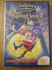 DVD ** LE BOSSU DE NOTRE DAME 2 ** losange N°52 WALT DISNEY QUASIMODO comme neuf