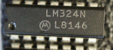 NOS MOTO LM324N  Qty:2   dip14  quad opamp    Ship in USA tomorrow!
