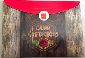 Mcdonalds Toy Jurassic Park Camp  Cretaceous Ankylosaurus