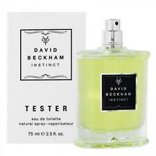 tester stock DAVID Beckham Instinct Men 75ml EDT GENUINE! Boxed & NEW